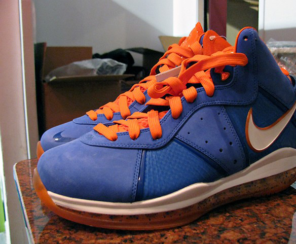 official photos 75c55 f6c9f Lebron 8  New York Knicks Colorway
