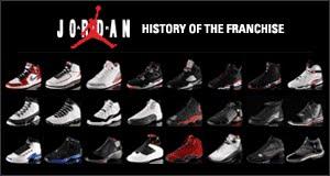 history of air jordans shoes