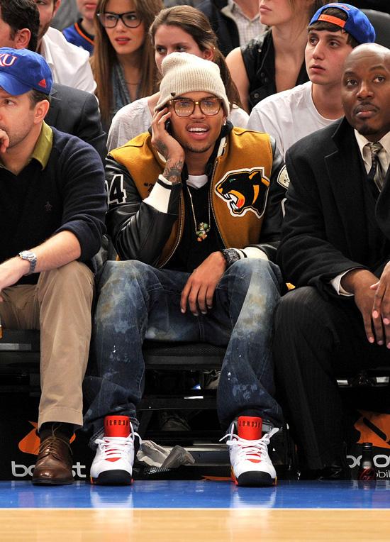 online store 28255 7c763 Nothing But Net Air Jordan 7 Sweater  Chris Brown s Air Jordan Sneaker Game  – CHRISBROWN ...