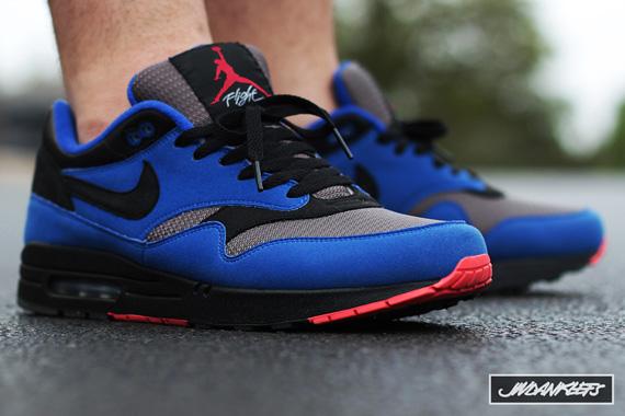 """Custom """"Eminem"""" Nike Air Max 1 iD Air Jordan IV  bbf2ae16f1"""