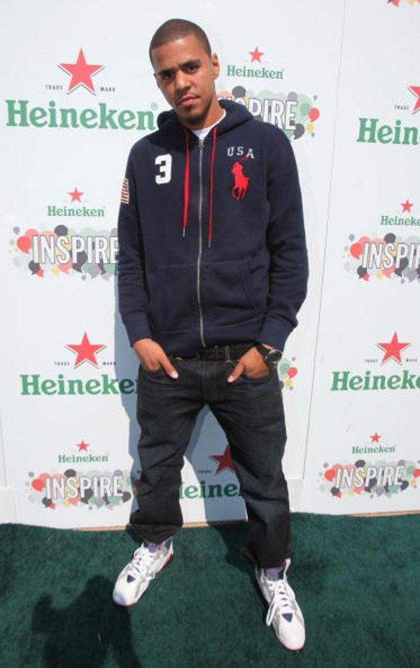 J Cole In Jordans J Cole's Air ...