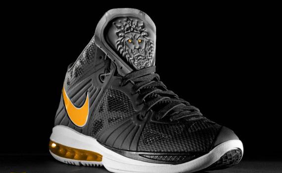 Nike LeBron 8 PS Sample Black Varsity Maize Unreleased  3c7cf14de7f0