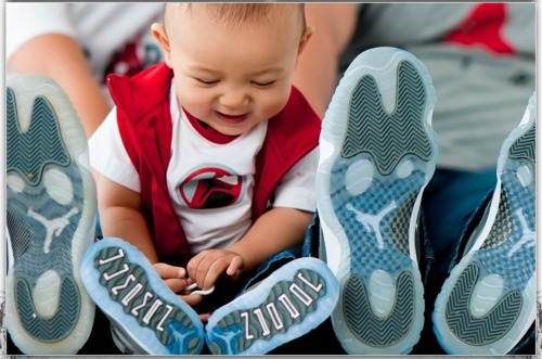 Kicks Addict Photo Of The Day : Baby In