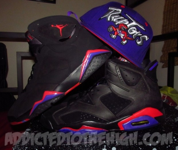 "Air Jordan 6 ""Raptor"" Custom By  Mizzeecustoms  89194ee0e"