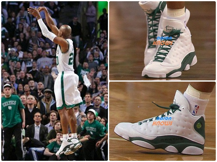 premium selection fe777 96d18 The Ray Allen Air Jordan 13 Player Exclusive Boston Home will be releasing  at ...