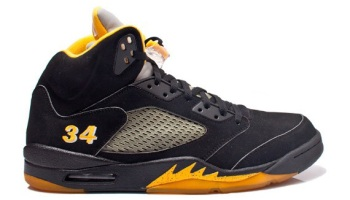 competitive price 1c325 0cdd7 Rare Air Jordan V Ray Allen Seattle Sonics Away PE For Sale By  Onsneaker