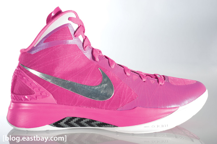 online retailer 591fe ce8ff ... pink hyperdunks e7ac3 12bef official nike hyperdunk 2011 that was  created in collaboration with the kay yow cancer fund has ...
