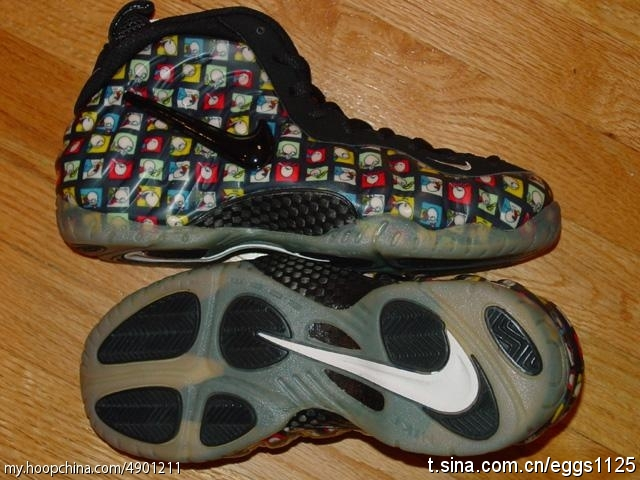 38be06e3ec4ba Comic Strip Foamposites Pro – Rare