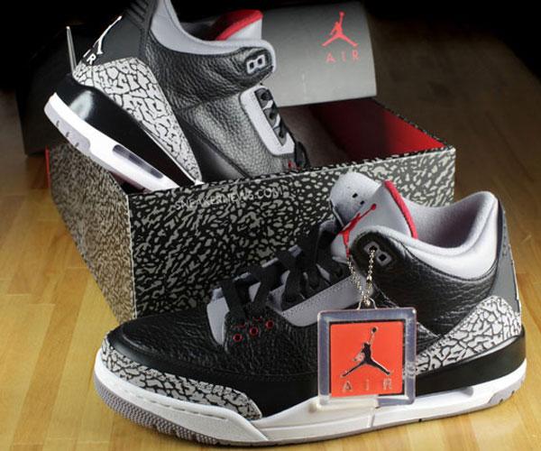 Jordan Retro 3 Black