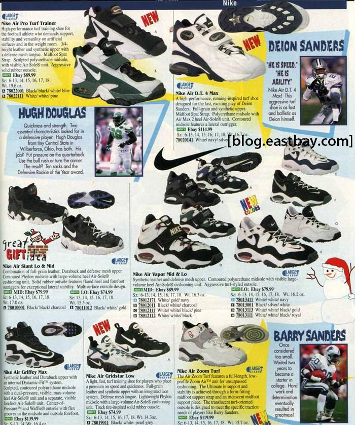 96f302ffb8571 Eastbay Memory Lane  Nike Turf Training 1996