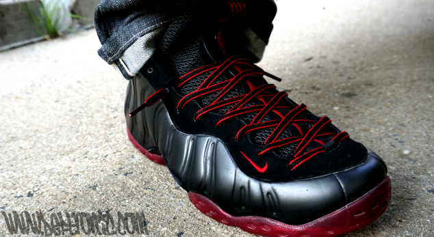 """size 40 93c00 6a76c ... WDYWT – Deftronic Rockin The Nike Air Foamposite One OG """"Cough Drop ."""