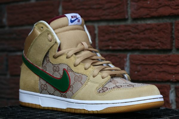 Nike Sb Gucci Custom Kicks Addict L The Official Sneaker Head S