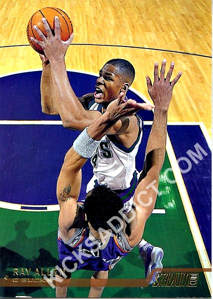 Rare   Ray Allen Rockin  The Air Jordan XI Milwaukee Bucks PE ... 0435239be318
