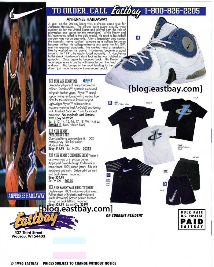 c6c4e139f2ff Memory Lane  Nike Air Penny 2   Apparel By  Eastbay