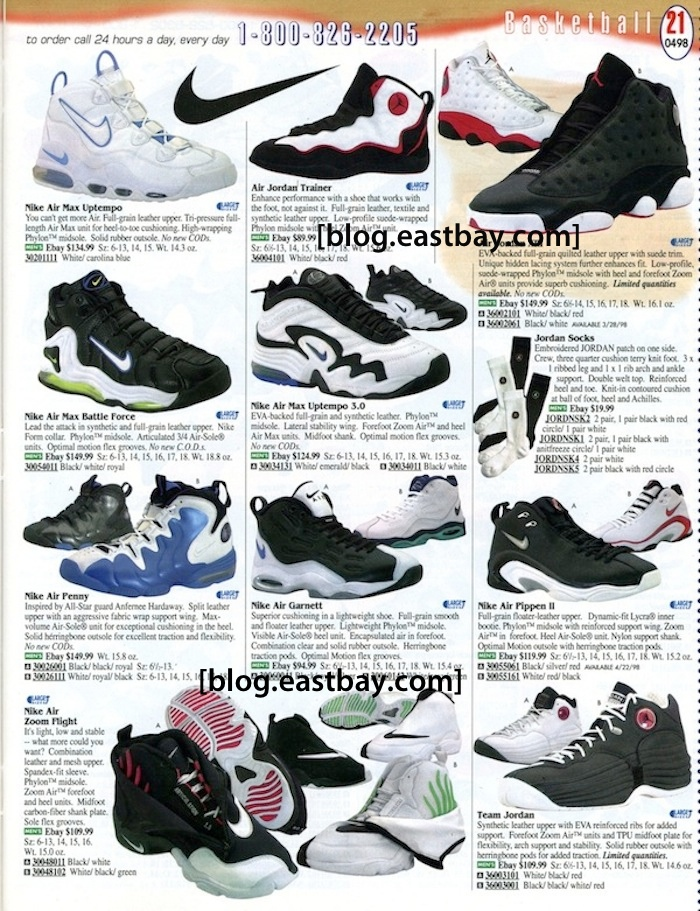 7c4bc224fd4a Memory Lane   98 Basketball Gems By  Eastbay