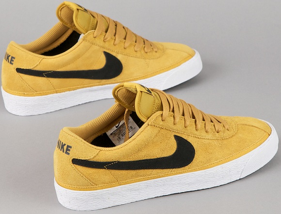 """4d9596c7db87 The Nike SB Zoom Bruin """"Golden Straw  is set for an early December release.  All you skateboard ..."""