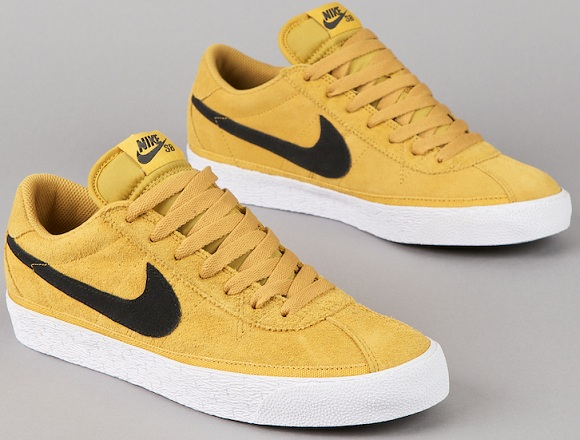 "628973a91995 The Nike SB Zoom Bruin ""Golden Straw  is set for an early December release.  All you skateboard ..."