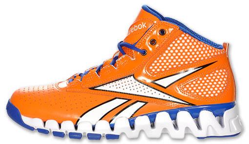Reebok Zig Pro Future – White Orange Blue  27bd97c13906