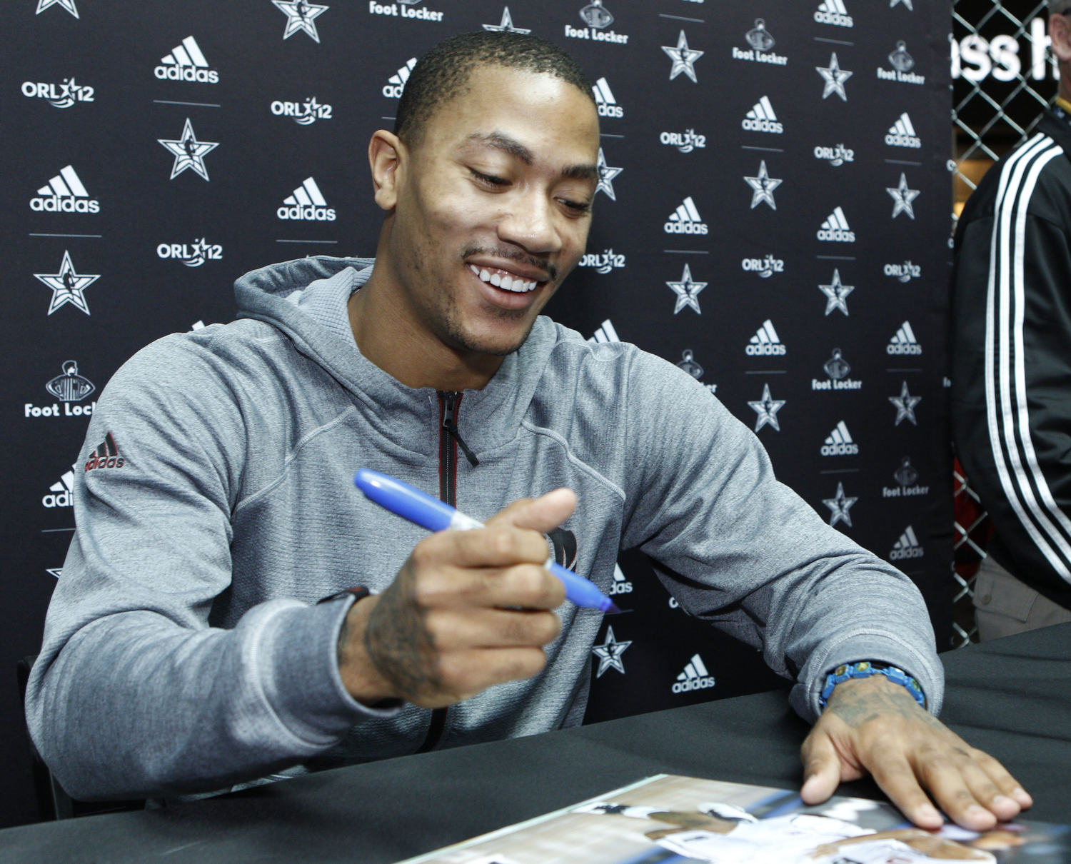 Derrick Rose and adidas at NBA All-Star  3f338acdeea9