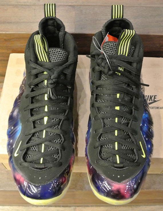 "f41603800a2 Nike Air Foamposite One ""Electro – Galaxy"" Customs"