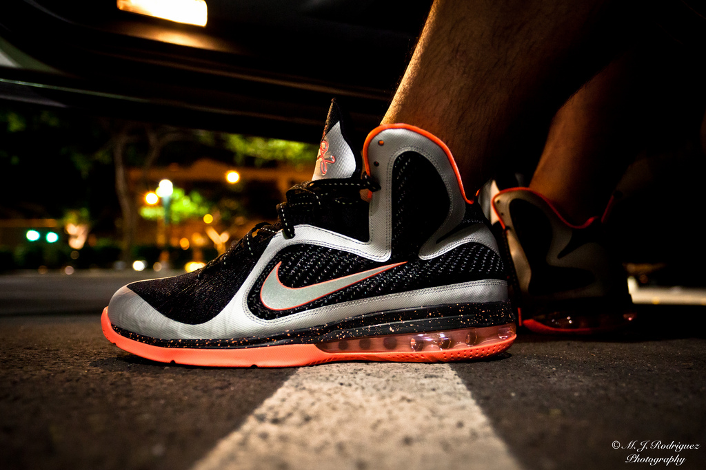 "finest selection b8792 138e8  WDYWT –  MjRod1985 Rockin The Nike Lebron 9 ""Mango"""