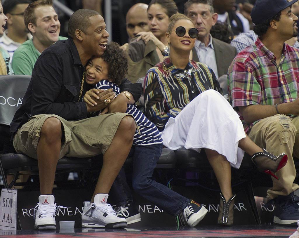 "bcabb57a4dbe0 Kicks Sightings  Jay-Z Spotted Rockin The Air Jordan IV ""Cement ..."
