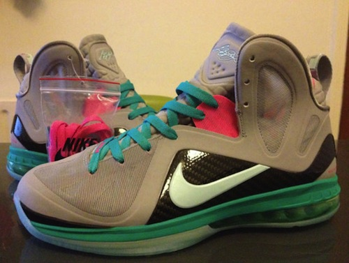 "78dcc1dc831 Kicks Sightings  Jay-Z Spotted Rockin The Nike Lebron 9 Elite ""South Beach"""