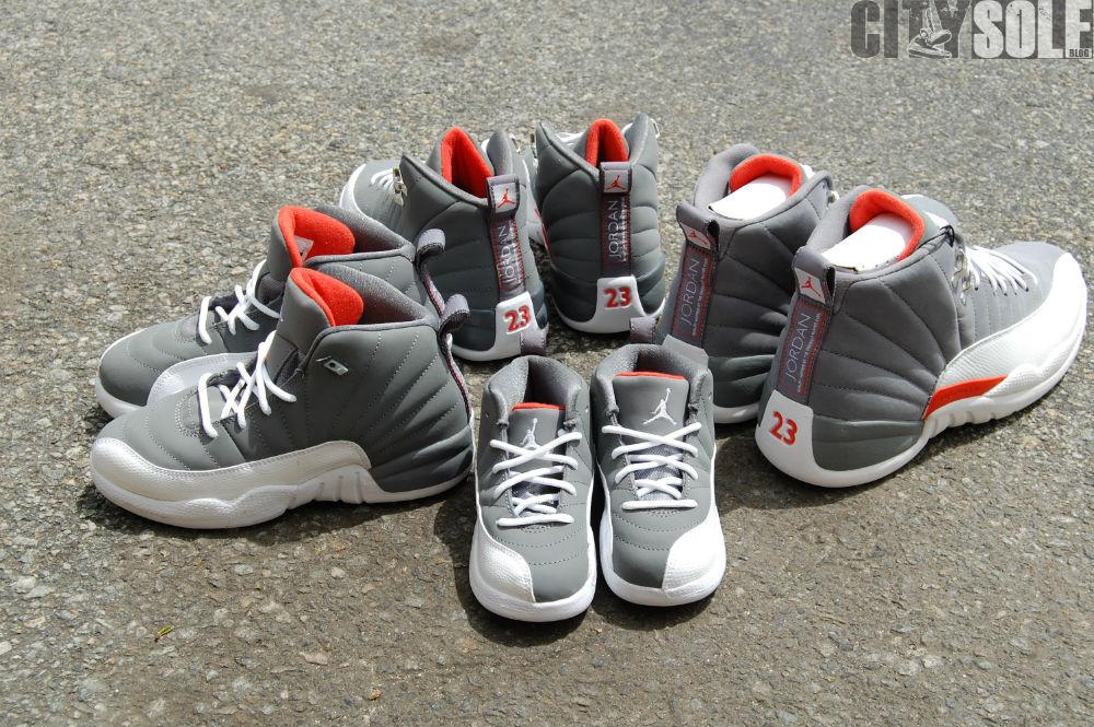 bc17435c672e93 top quality nike air jordan 12 retro cool grey team orange 2a68b 29deb