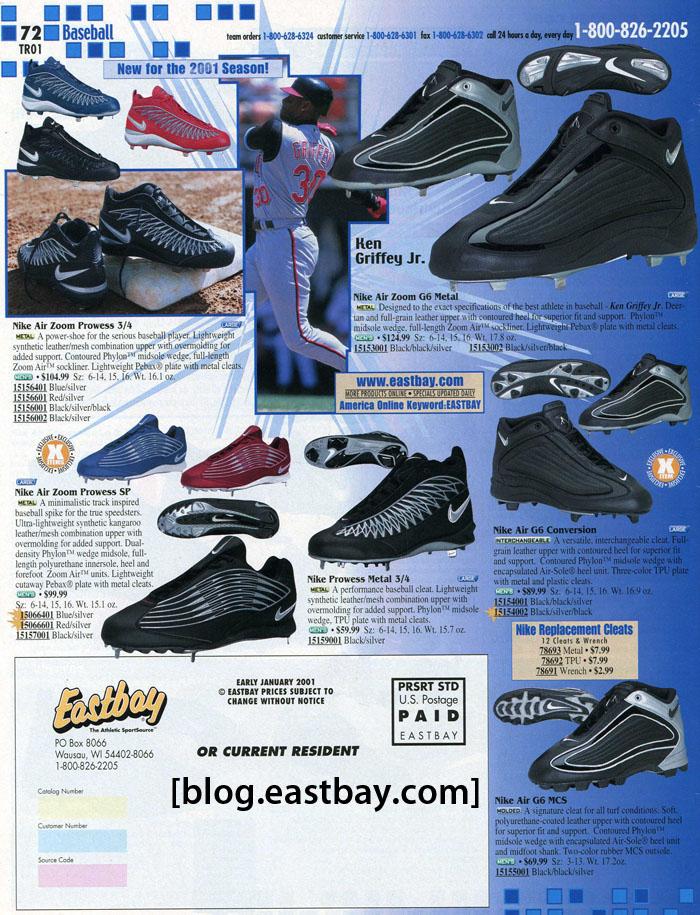 reputable site ef1d5 10e66 Memory Lane  Nike Baseball 2001By  Eastbay   Kicks Addict l The ...