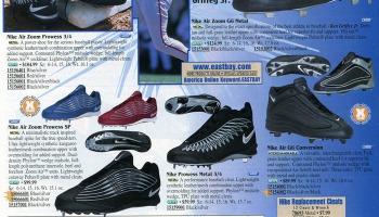 Memory Lane  Bo Jackson   Nike Baseball 1994 bY  Eastybay  2e0e9cfb0