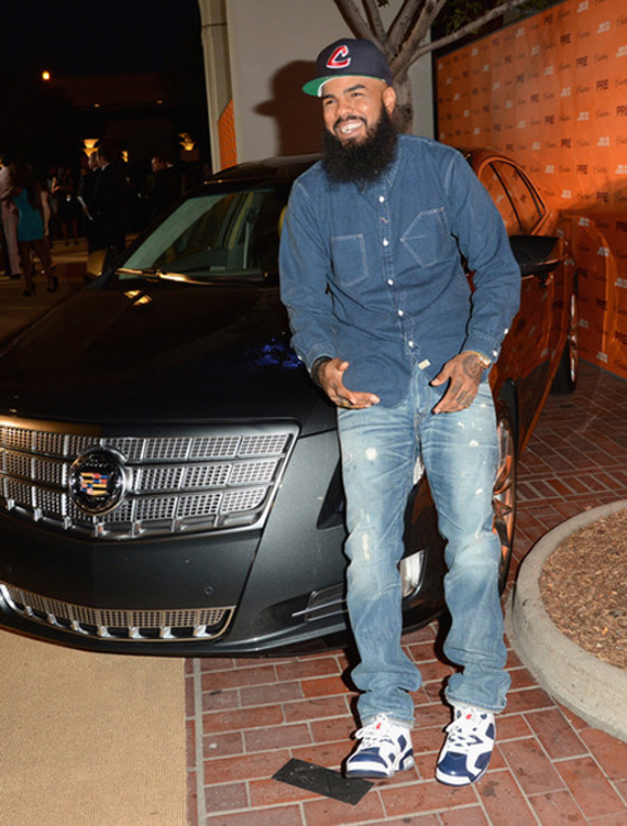 release date 5c0cc ffbd4 Celebrity Kicks Sightings  Stalley Spotted At 2012 BET Awards Rockin ...