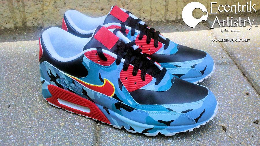 "Nike Air Max 90 ""Camouflag e Life"" Custom By Ecentrik Artistry . 05eb8d0408"