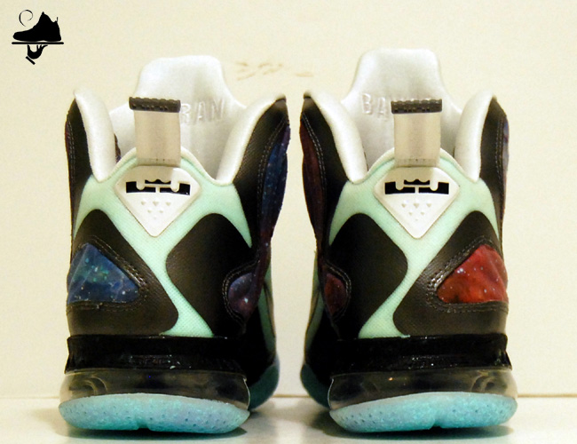 "wholesale dealer 107a7 acaf2 GourmetKickz previously released ""King of the Galaxy"" LeBron 9 Foamposite  ..."