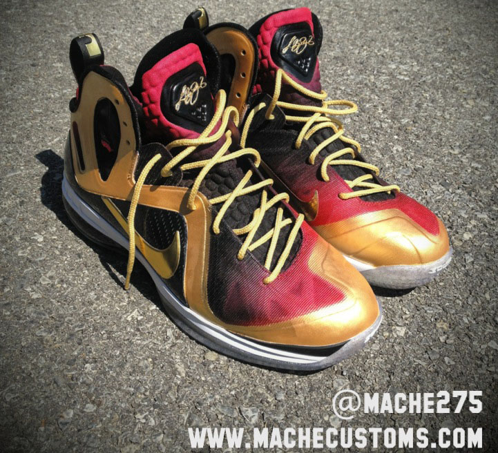 "new product aea8b cd83b Nike LeBron 9 P.S. Elite ""MVP"" by  MACHE275"