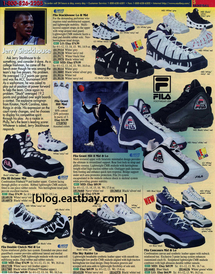 3a75bf9de Memory Lane  FILA Basketball 1996 By  Eastbay
