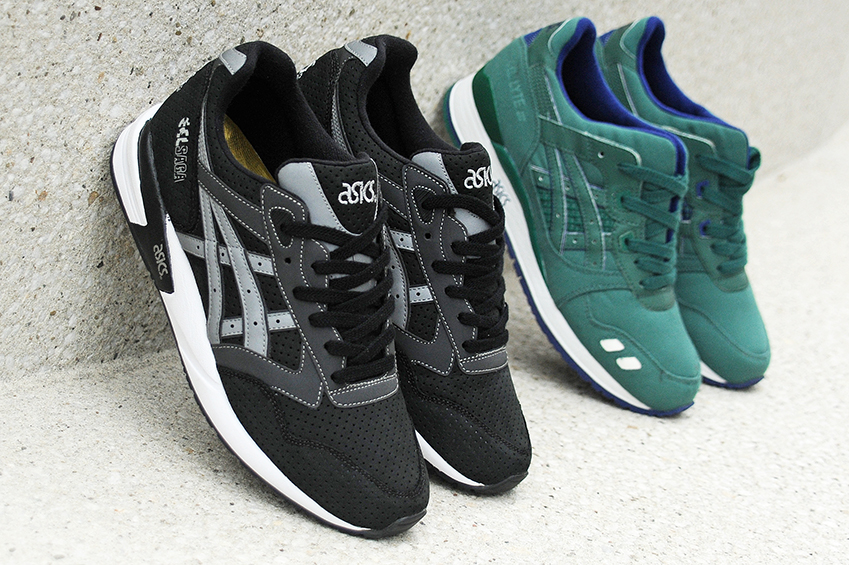 """The highly anticipated drop of the BAIT x Asics """"Rings"""" Pack is finally  here! The Asics Gel Saga """"Black Ring"""" and the Asics Gel Lyte III """"Green  Ring"""" will ... 89c83e95cd"""