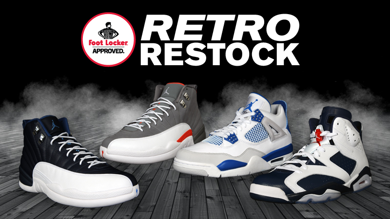 526c23f13ffd34 Footlocker Air Jordan Retro Restock