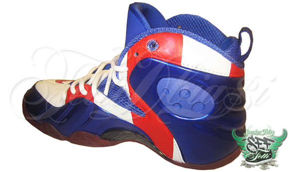 "405174f83cc7ce Nike Zoom Rookie LWP ""Captain America"" Custom By  fettidbiasi ..."