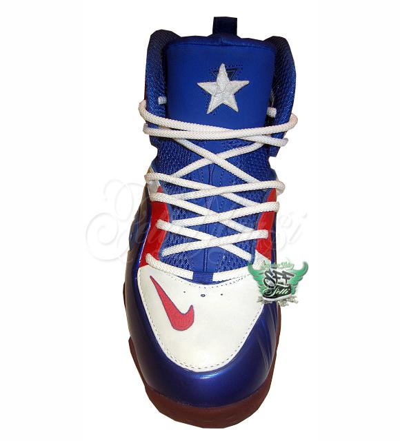 "aafd1ed3547c Nike Zoom Rookie LWP ""Captain America"" Custom By  fettidbiasi ..."