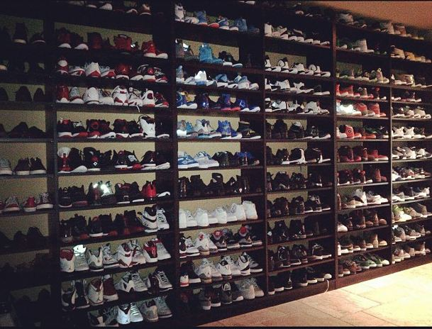 2036b5f1af78 NBA star Stephen Jackson took to twitter to show off his illustrious air  jordan Collection – sheesh! I need to step my game up. What am I thinking