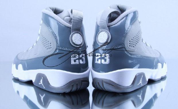 "04159495e8a Air Jordan 9 ""Cool Grey"" Medium Grey White-Cool Grey 302370-015. Due Out December  15"