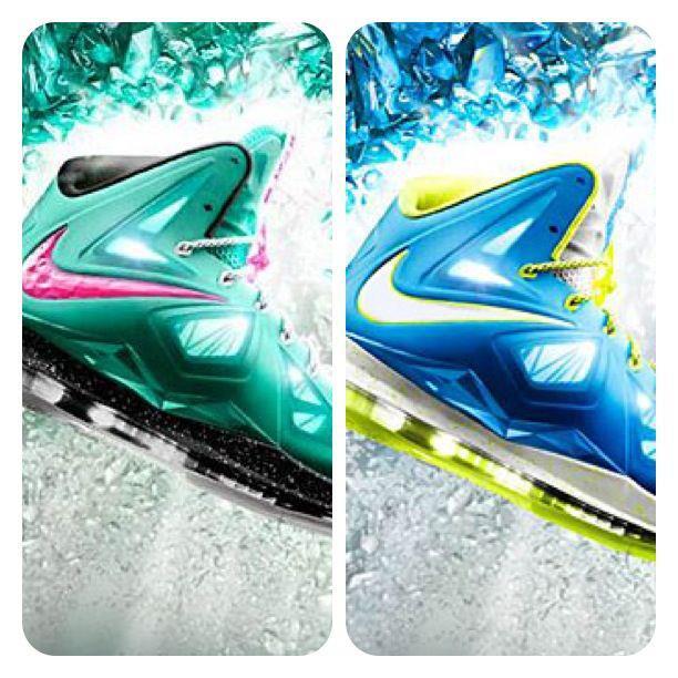 Nike LeBron X iD South Beach   Sprite Sample  ca489cd0c9