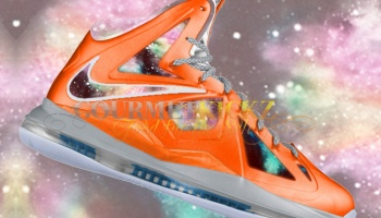 """bc7bdcf9a Nike Lebron X """"King of the Cosmos"""" Galaxy Finale Custom By ..."""