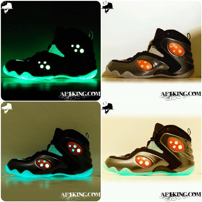 "e1d0e6e26ccde7 Nike Zoom Rookie ""Halloween Part II"" aka ""Un-Hallow een"" Custom By ..."