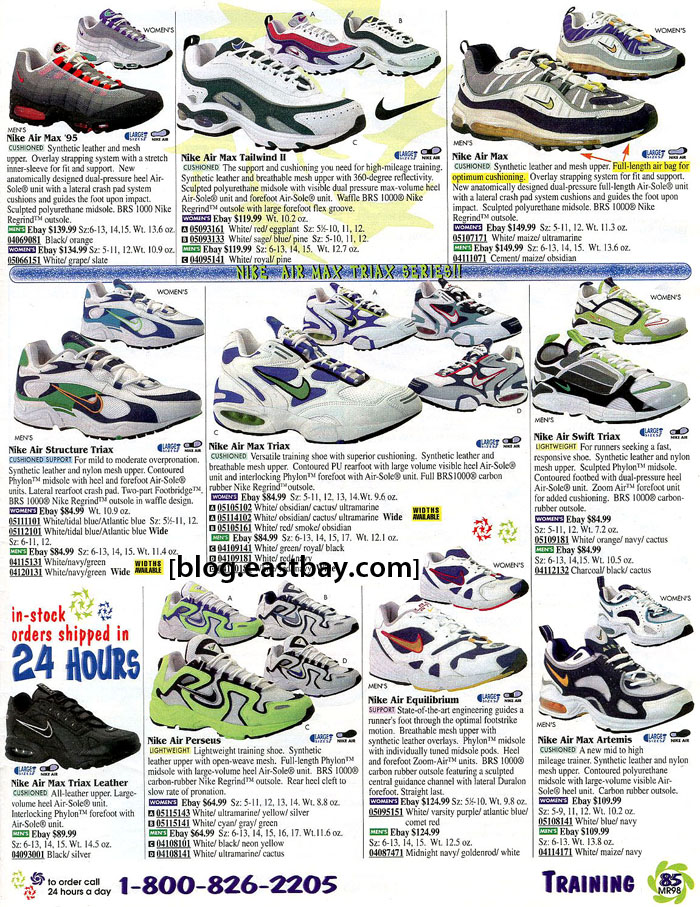 cc9e11dcf5d809 Memory Lane  Nike Running Classics from 1998 By  Eastbay