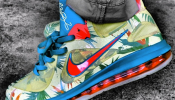 """Nike LeBron 9 Low """"LeBronold Palmer"""" Glow in the Dark c18e2ce7af41"""