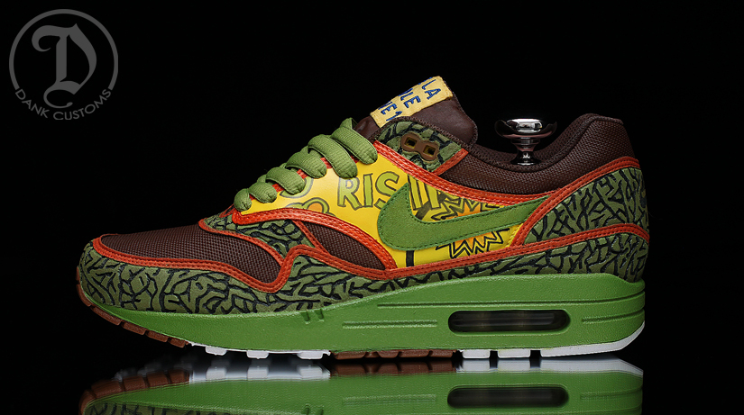 """the latest 419fc c010a ... Dope – inspired by the obvious """"De La Soul"""" this shoe also used The  Official Nike Air Max 90 ..."""