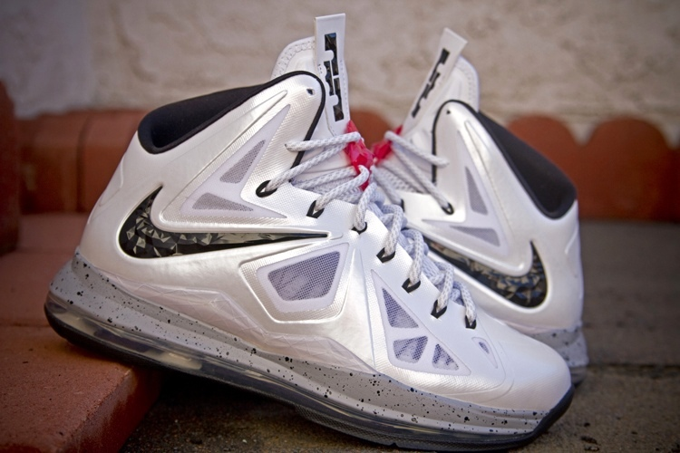 official photos 56cb0 6be78 ... nike-lebron-10-id-production-white-cement ...