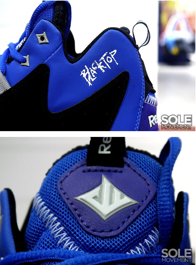 The Reebok Wall Season 3  ZigEscape. With the inclusion of the Blacktop  logo by the collar 11f07a10b5a7