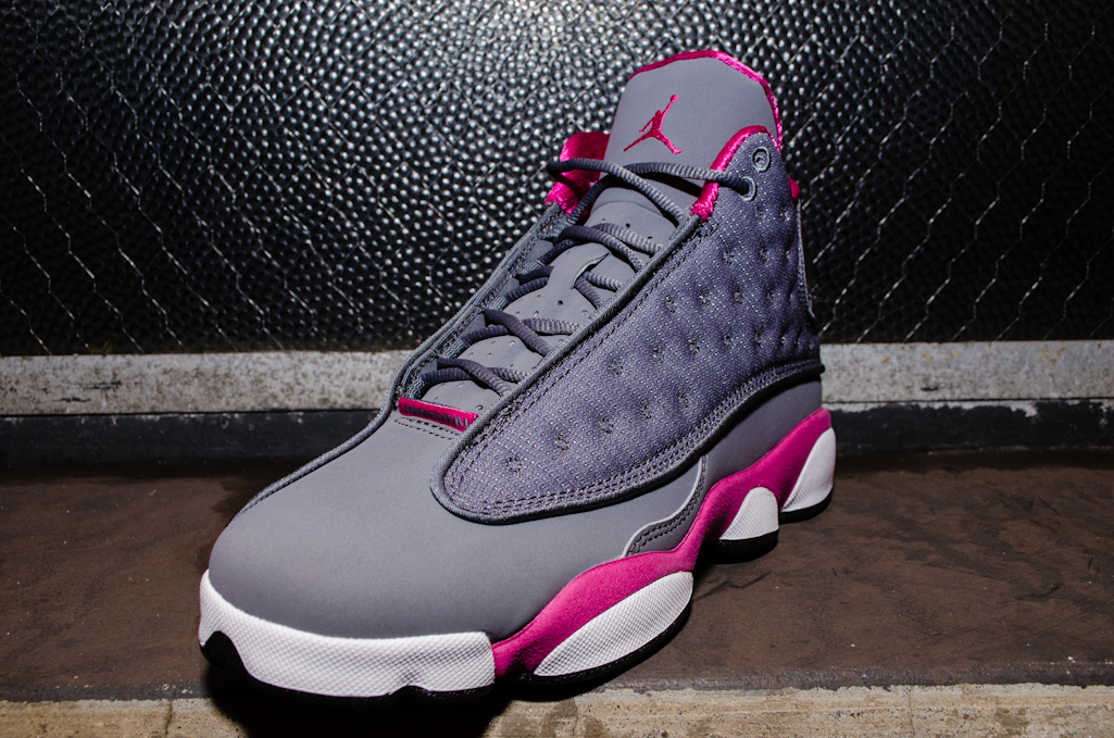 online store f68c1 685f8 ... where can i buy new images air jordan 13 retro gs cool grey atomic pink  6a2d4